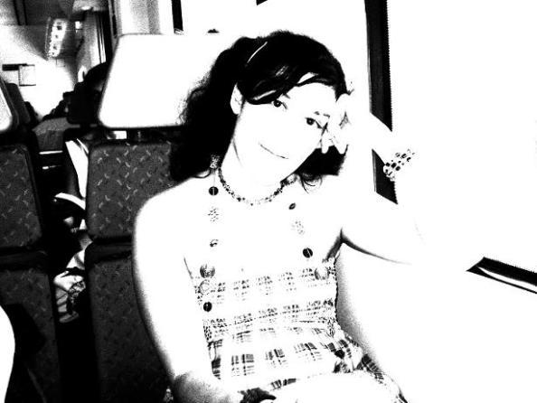Yo en el tren ;)